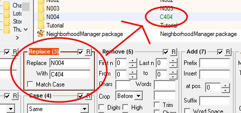 Renaming neighborhood folder img 3