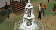 Aftermath of soap in fountain prank, TS2