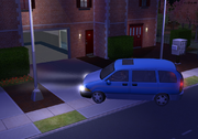 Car pulling out of driveway TS2
