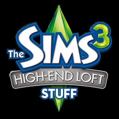 File:The Sims 3 High-End Loft Stuff Logo.png