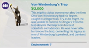 Von-Windenburg´s Trap