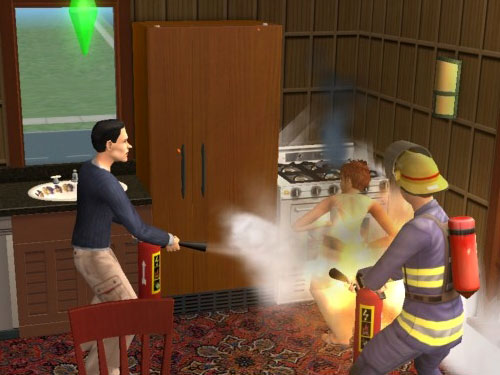 File:A Firefighter and a Citizen.jpg