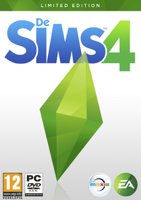 De Sims 4 Cover Limited Edition