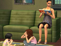 Famille Cho (Les Sims 2)