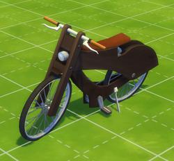 Full Wood Jacket Bike