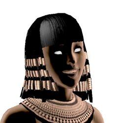 Headshot of Cleopatra