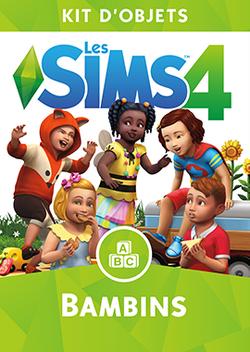 Packshot Les Sims 4 Bambins