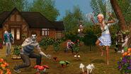 TS3 supernatural fairyzombie garden