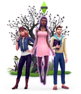 The Sims 4 Vampires Render 04
