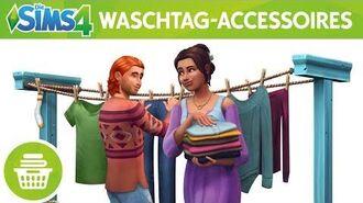 Die Sims 4 Waschtag-Accessoires Offizieller Trailer
