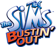 The Sims Bustin' Out logo HD