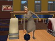 Госпожа Пьяная-Помятая играет