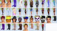 Contenu Les Sims 4 Accessoires Effrayants 1