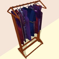 Empress's New Clothes Rack