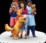Les Sims 4 Chiens et Chats Render 01