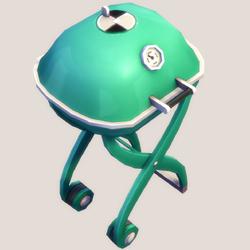 Quadpod Grill