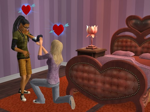 The sims 2 sex beds