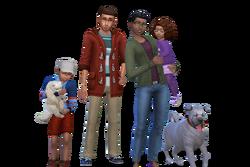 Delgato familie