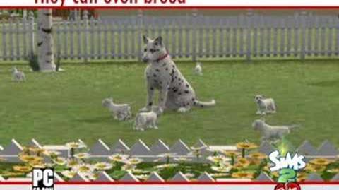 Los Sims 2 Mascotas Tráiler