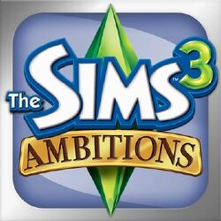 Sims 3 Ambitions iPhone logo