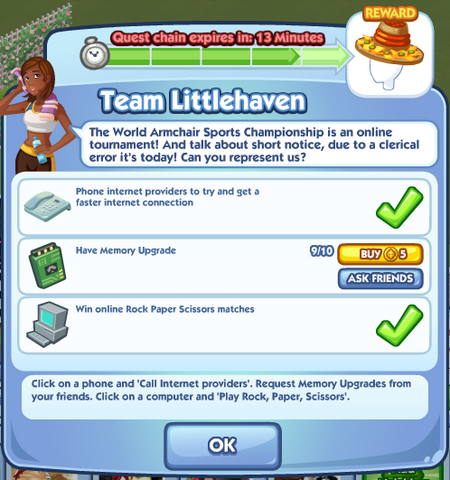 File:Sims Social - Quests - Limited - Team Littlehaven.png