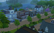 Willow Creek Commercial District - Street View