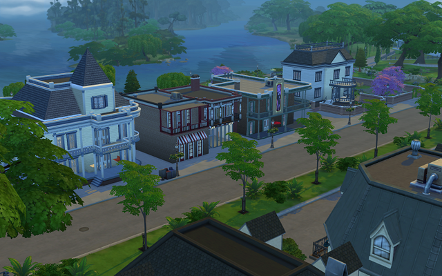 File:Willow Creek Commercial District - Street View.png