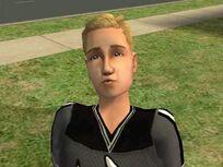 Aimar Blakstad i spillet