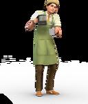 Les Sims 4 Au Travail Render 7