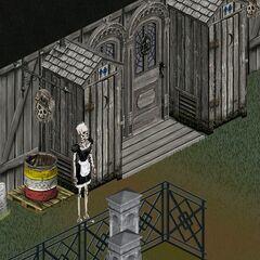 Bonehilda en Ciudad Magica