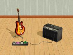 Sims 2 Guitarra