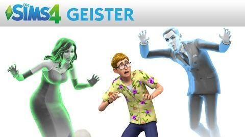 Die Sims 4 Offizieller Trailer - Die Geister sind da!