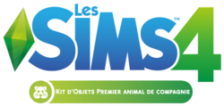 Logo Les Sims 4 Premier animal de compagnie