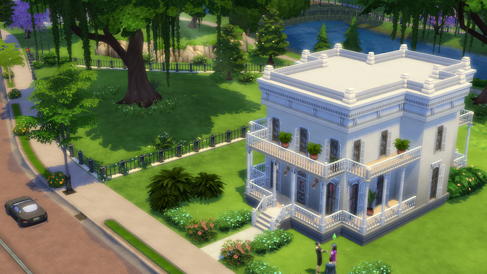Image TS4 Build Press Print The Sims Wiki