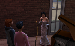 TS4 Performing Comedy Routine