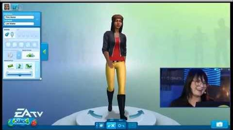The Sims 4 Live Demo