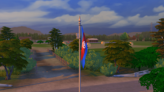Brindleton Bay flag