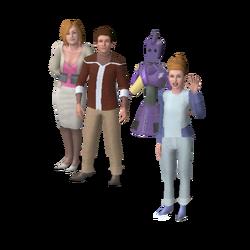 Castle familie