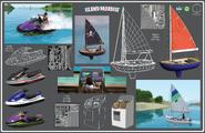 Les Sims 3 Île de Rêve Concept Christina Douk 1