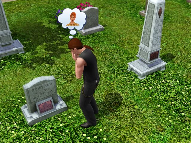 File:Mourning at a grave.jpg