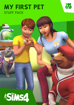 The Sims 4 My First Pet Stuff Cover