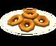 Пончики с глазурью