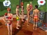 Lista de los Sims utilizados para material promocional