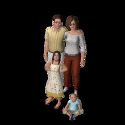 Famille Monty (Les Sims 3) 1