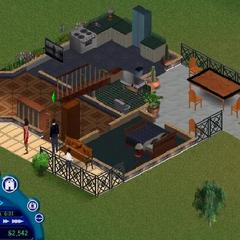 Planta baja, habitación de Homero y Elvira, salón, baño y cocina