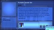 Portable Gnubb Set