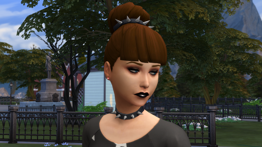 TS4 Dolores Gray Glare