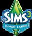 De Sims 3 Lunar Lakes Logo