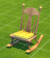Extra Comfy Armless Rocking Chair by Sit'n'Stitch