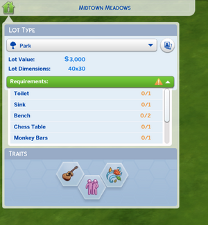 TS4 lot type selection3